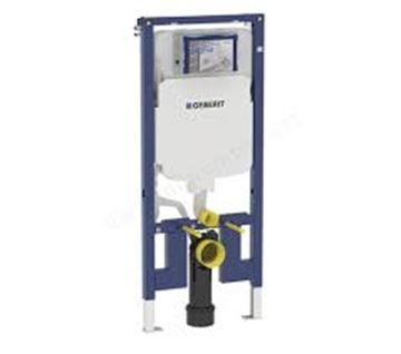 Picture of Geberit  Duofix frame for wall-hung WC, 114 cm, with Sigma concealed cistern 8 cm